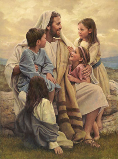 Jesus y niños