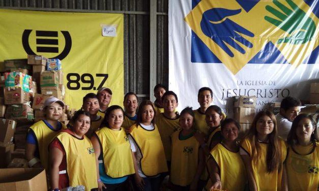 Primera Dama de Guatemala reconoce a Manos Mormonas que Ayudan