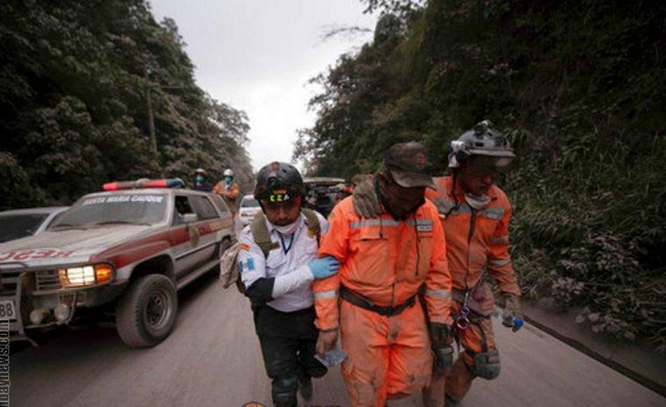 Estado de los misioneros y miembros luego de la erupción del volcán de Fuego en Guatemala