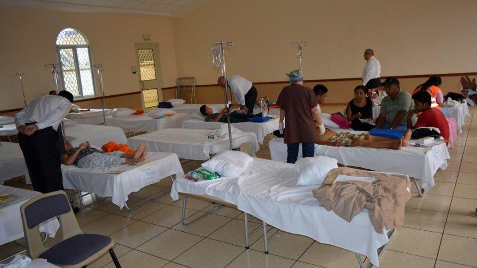 Capillas mormonas se convierten en albergues para los damnificados en Guatemala
