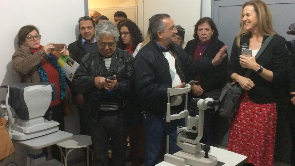 donación en un hospital de Uruguay