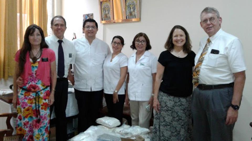 donación mormona en Iquitos Perú
