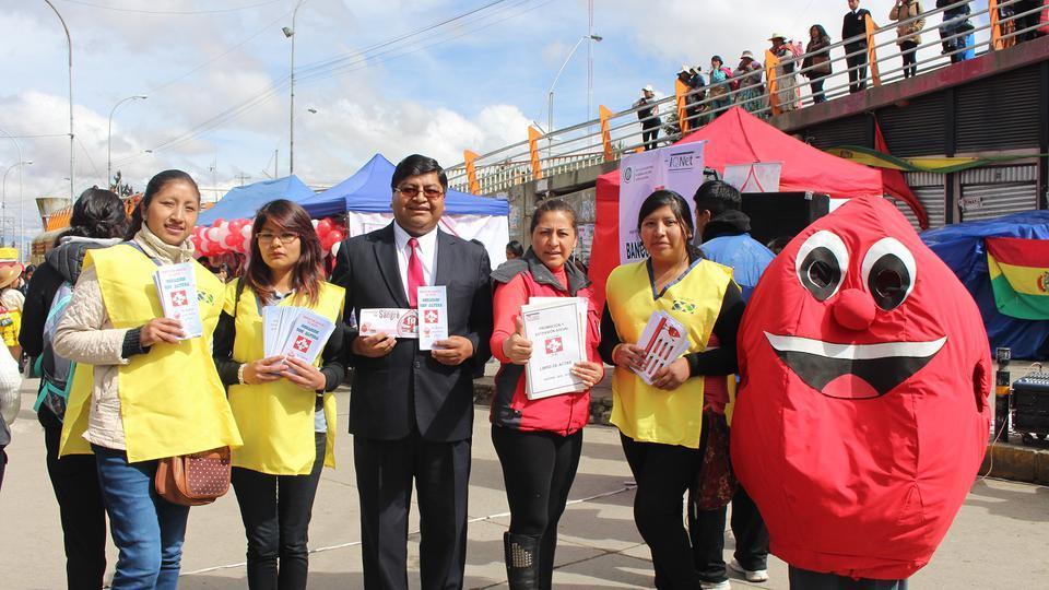 Mormones son reconocidos por su labor como donadores de sangre en Bolivia