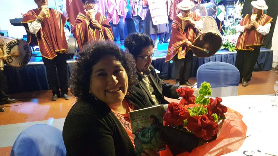 escritora mormona en Bolivia
