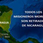 La Iglesia de Jesucristo de los Santos de los Últimos Díasanuncio que oficialmente todos los misioneros mormones son retirados de Nicaragua.
