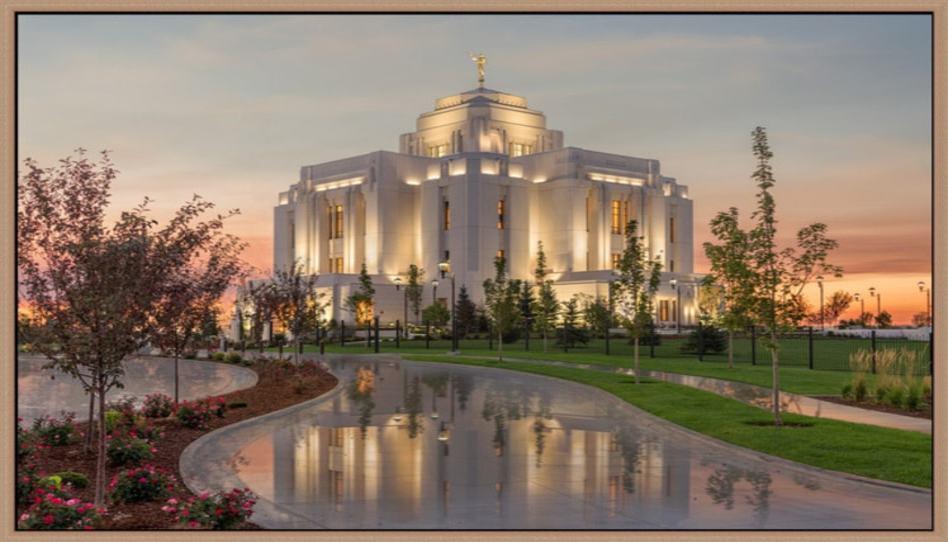 18 Fotos celestiales de los templos después de la lluvia