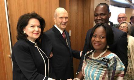 """El presidente Nelson comparte los """"anhelos de su corazón"""" con los nuevos presidentes de misión"""