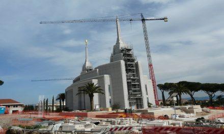 El Templo de Roma no puede esperar a abrir sus puertas para todos los miembros de la Iglesia en Italia