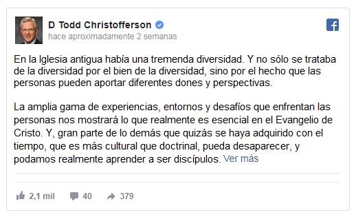 todd christofferson
