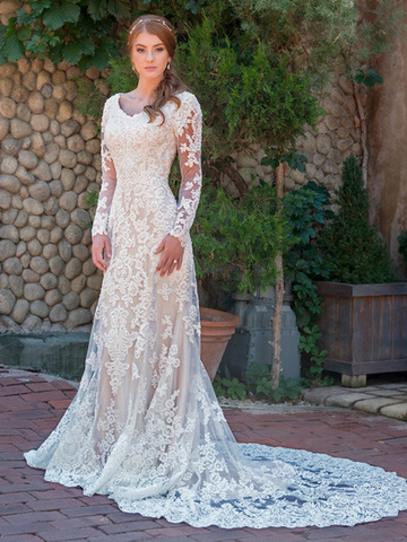Vestidos de novia sencillos en chile