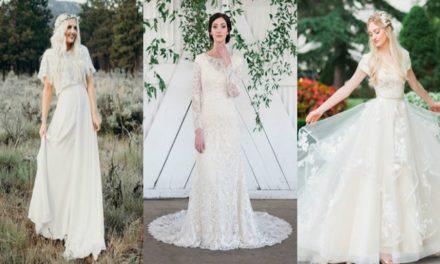 30 Hermosos y Modestos Vestidos de Novia