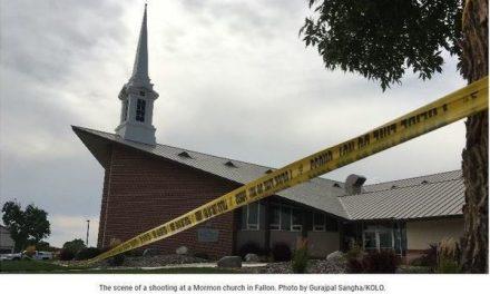 Tiroteo en Iglesia Mormona deja 1 muerto y 1 herido