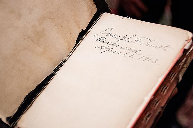 La biblia del presidente Joseph F. Smith