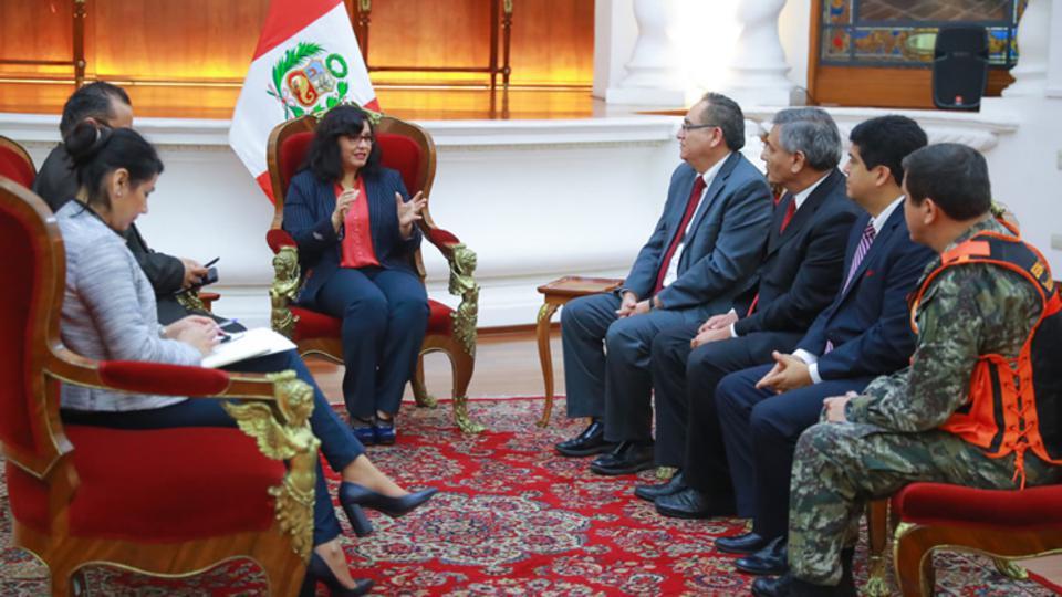 Mormones y el gobierno peruano
