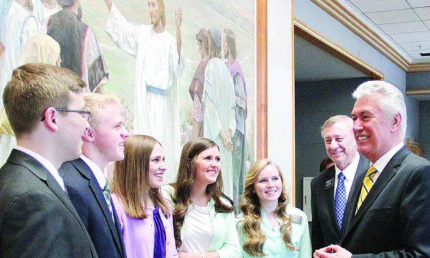 La fuerte conexión entre los doce apóstoles y los 65,000 misioneros de la iglesia de Jesucristo