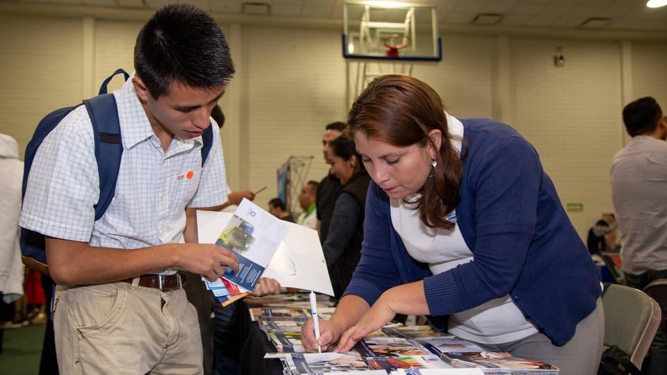 evento educativo en México