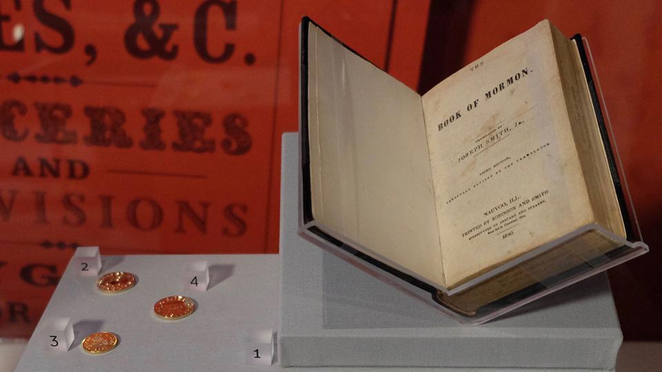 Importante museo apertura con una exhibición de la historia mormona