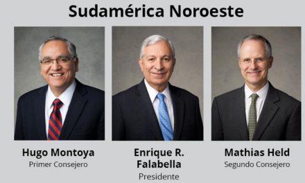 Nueva Presidencia del Área Sudamérica Noroeste de la Iglesia de Jesucristo