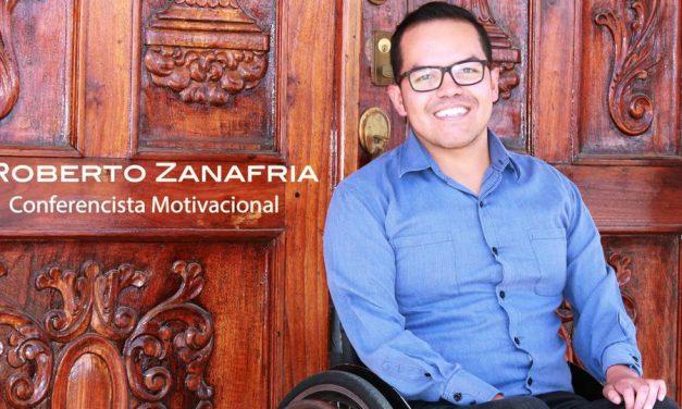 Un gigante sobre ruedas: Joven mormón, conferencista, destacado deportista y músico