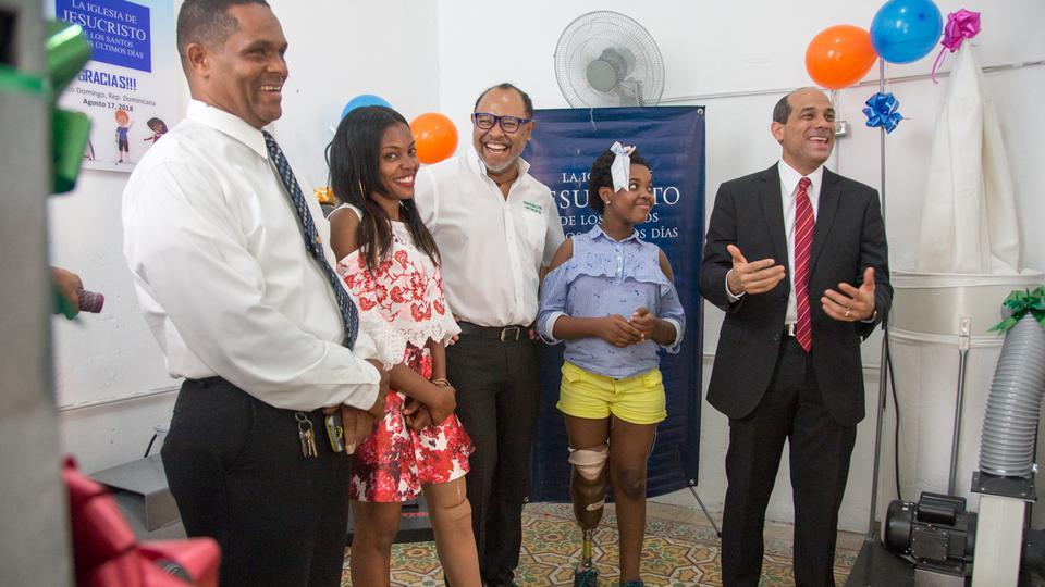 donación en República Dominicana