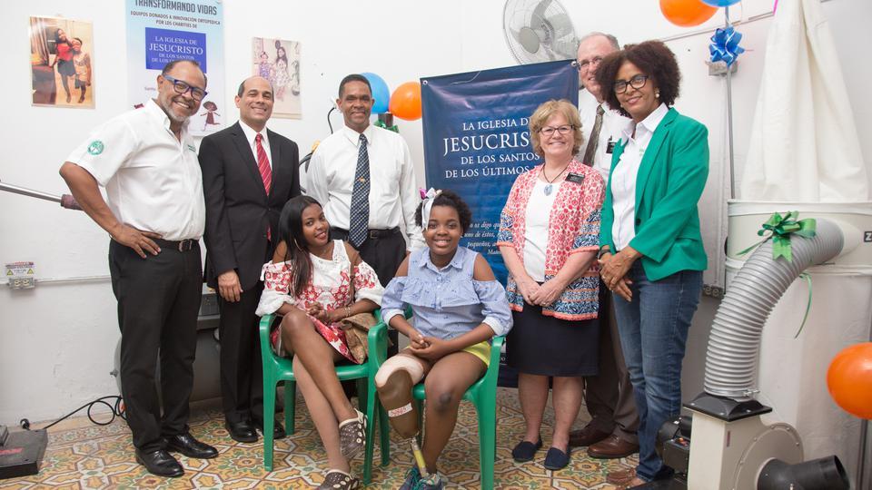 La Iglesia de Jesucristo realiza una importante donación en República Dominicana
