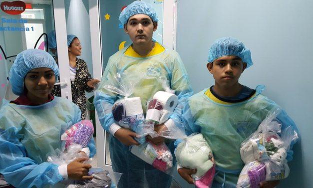 Lo que hicieron un grupo de jóvenes mormones en un Hospital de Honduras