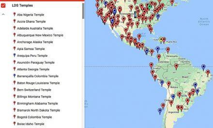 Google Maps crea una nueva función para encontrar los templos de La Iglesia de Jesucristo de todo el mundo