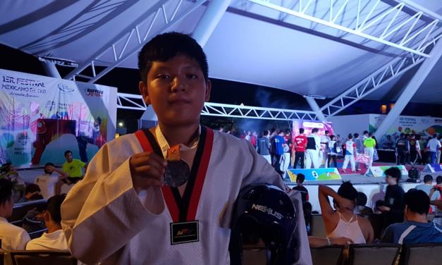Niño mormón gana la medalla de plata en competencia de Taekwondo en México