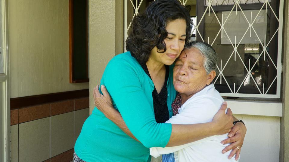 sobrevivientes de los volcanes en Guatemala