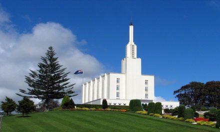 60 años después de su dedicación, el templo de Nueva Zelanda cierra por renovaciones. Vea cómo se verá cuando esté terminado