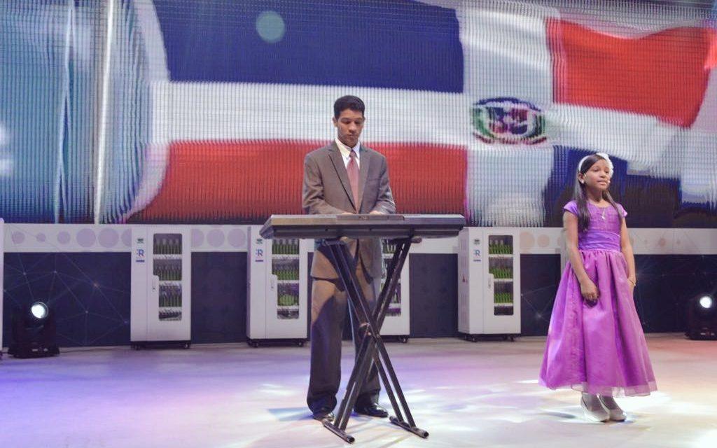 Niña de la Iglesia de Jesucristo es destacada cantante en República Dominicana