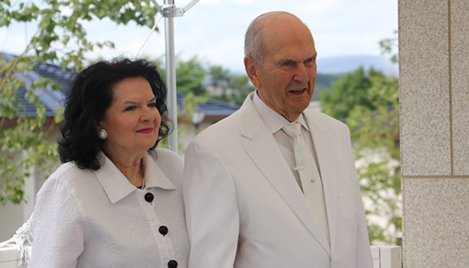 Wendy Nelson y Russell M. Nelson