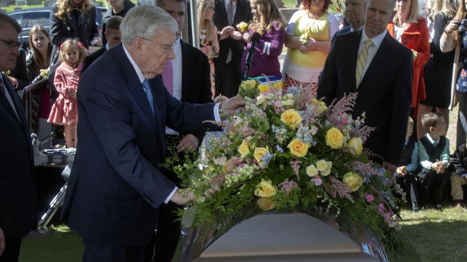 El emotivo funeral de la hermana Bárbara Ballard