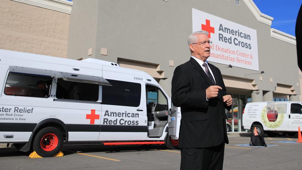 La Cruz Roja  y los mormones