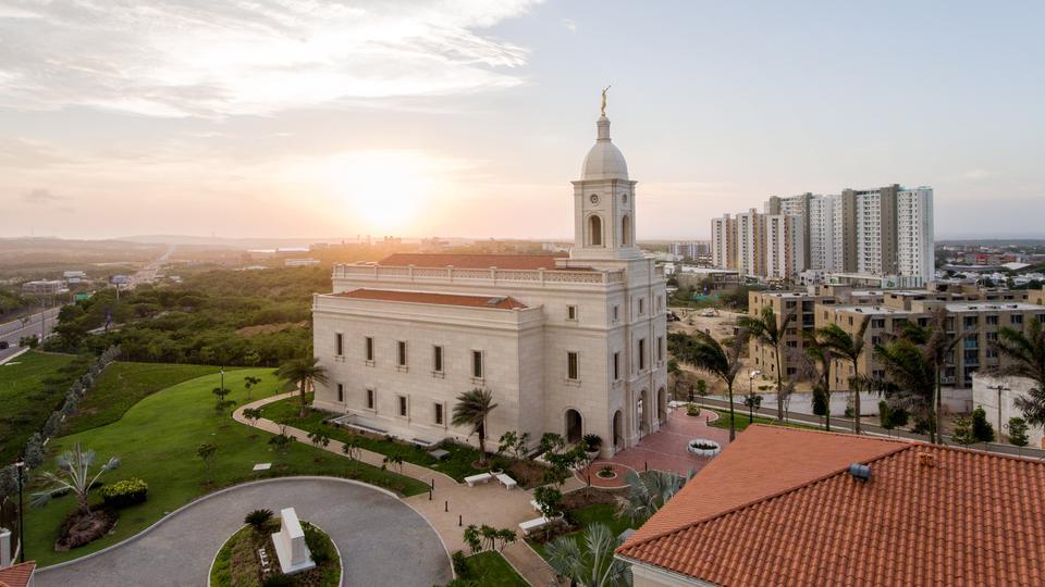 Se anuncia la reapertura del Templo de Barranquilla, Colombia para la Fase 1
