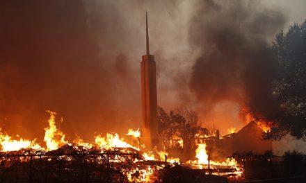"""""""95% de los miembros de nuestro barrio perdieron sus hogares"""": Una actualización sobre los miembros de la Iglesia en Paradise, California"""