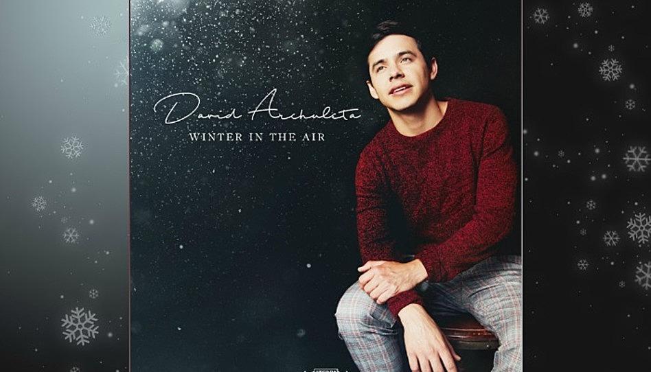 Llegaron las fiestas, David Archuleta lanza nuevo álbum de navidad
