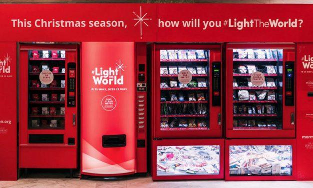 Las máquinas donadoras de Ilumina el Mundo recolectaron $ 6.3 millones