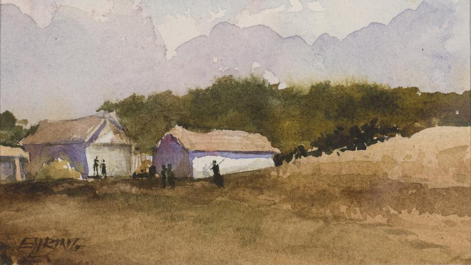 pinturas del Presidente Eyring