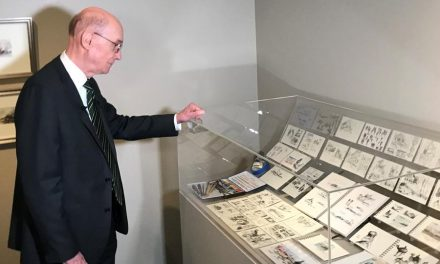 Se exhiben pinturas hechas por presidente Eyring en el Museo de Historia