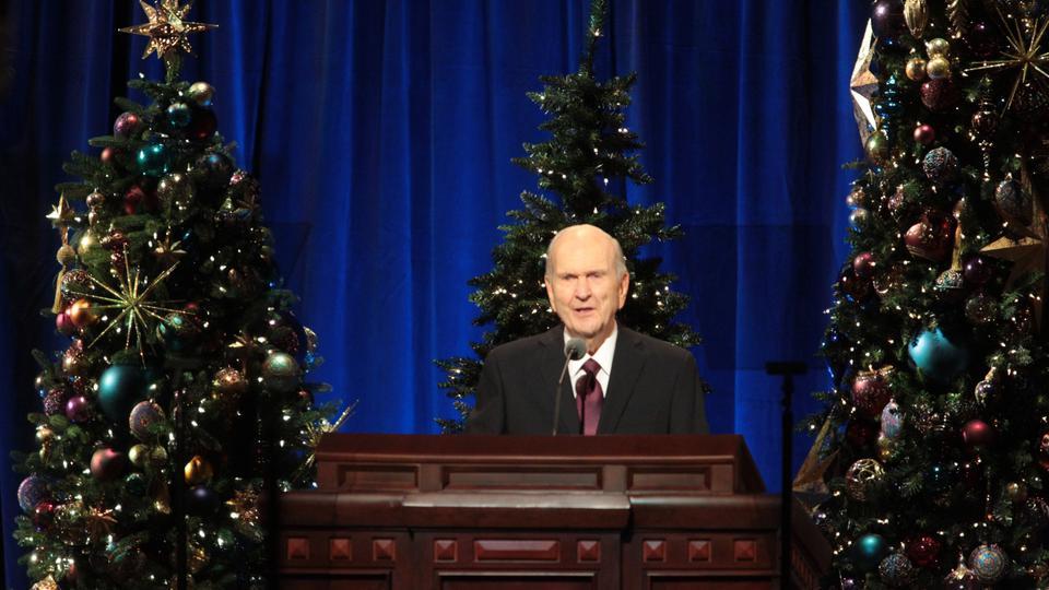 Presidente Nelson: Los 4 regalos del Salvador que debes recordar esta Navidad