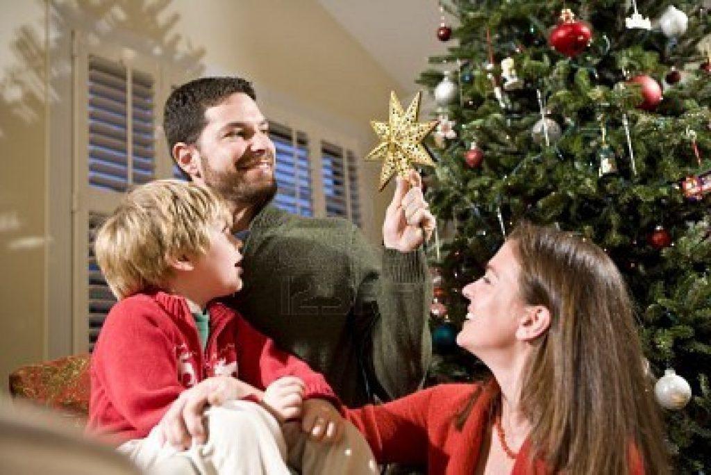 navidad y las familias mormonas.