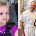 niña famosa por sus memes es bautizada en la Iglesia de Jesucristo