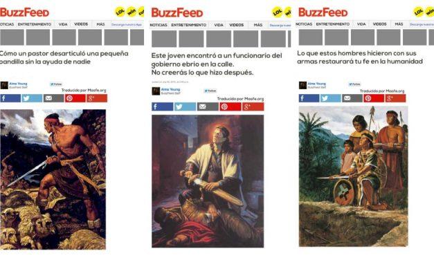 Cómo Buzzfeed informaría las historias del Libro de Mormón en la actualidad