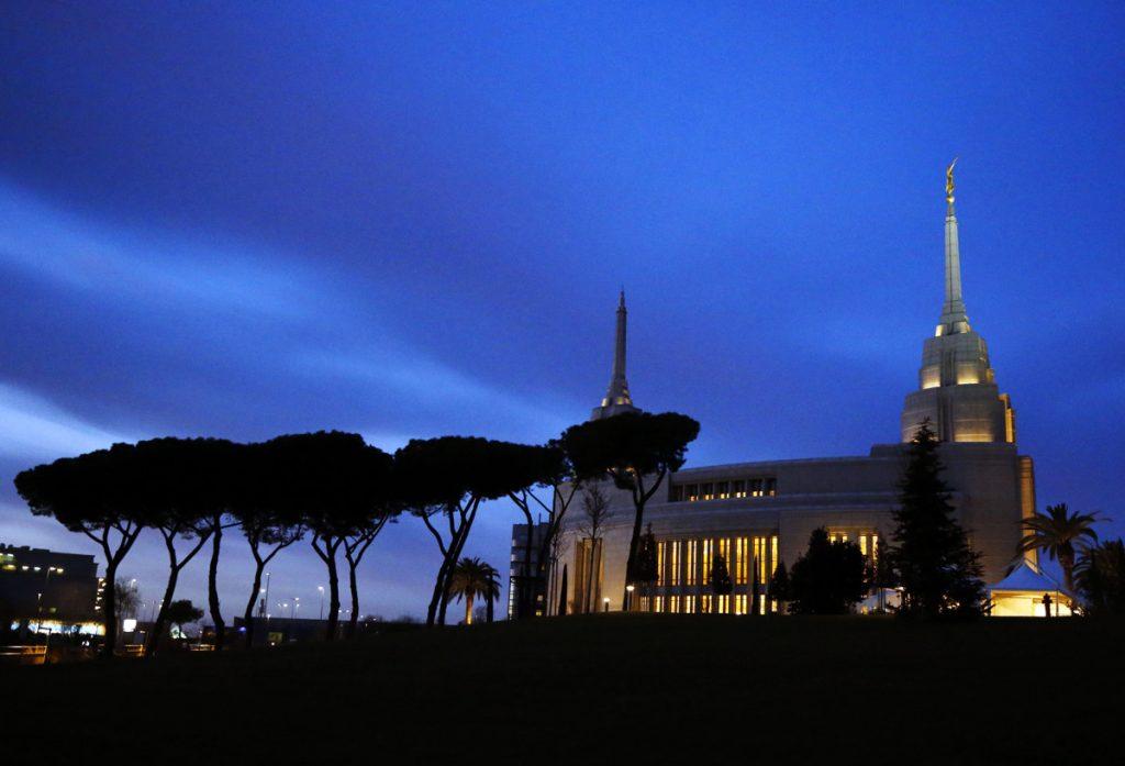 apostoles en el templo de Roma, Italia
