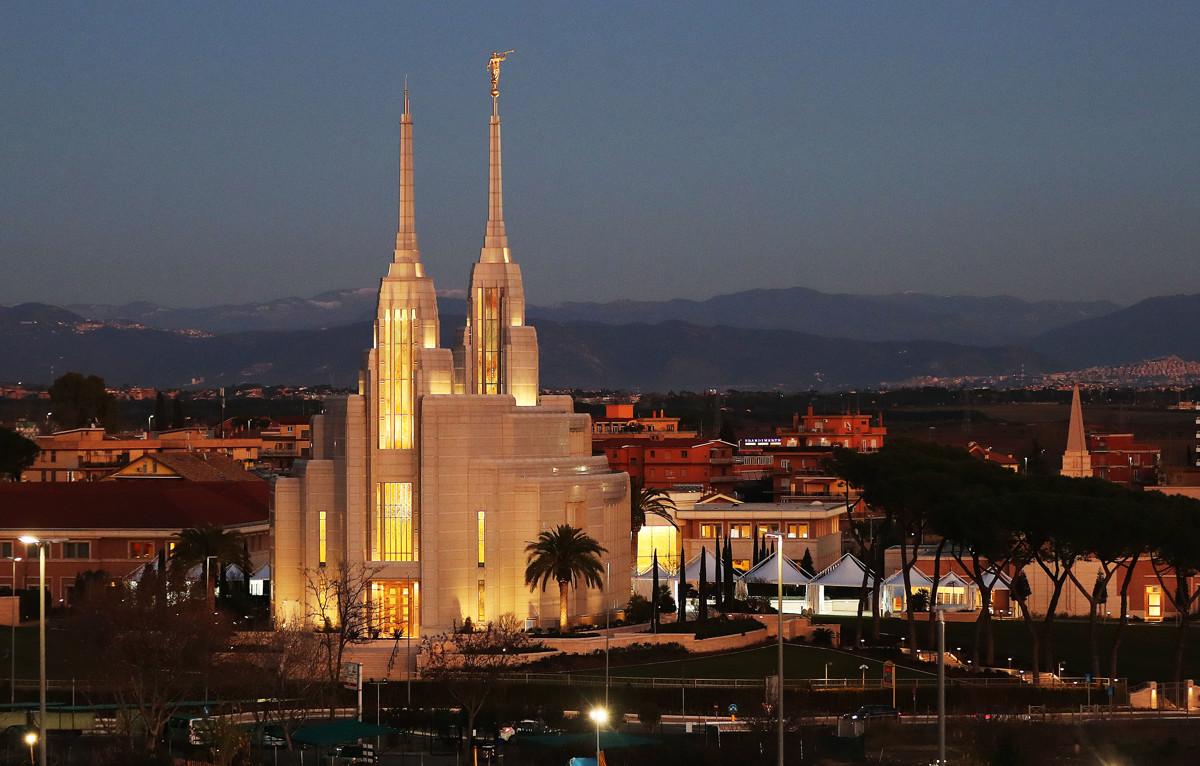 el vaticano y el Templo de Roma