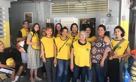 El amor de la Sociedad de Socorro por un grupo de ancianos en Puerto Rico