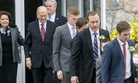El emotivo mensaje del presidente Nelson el funeral de su hija
