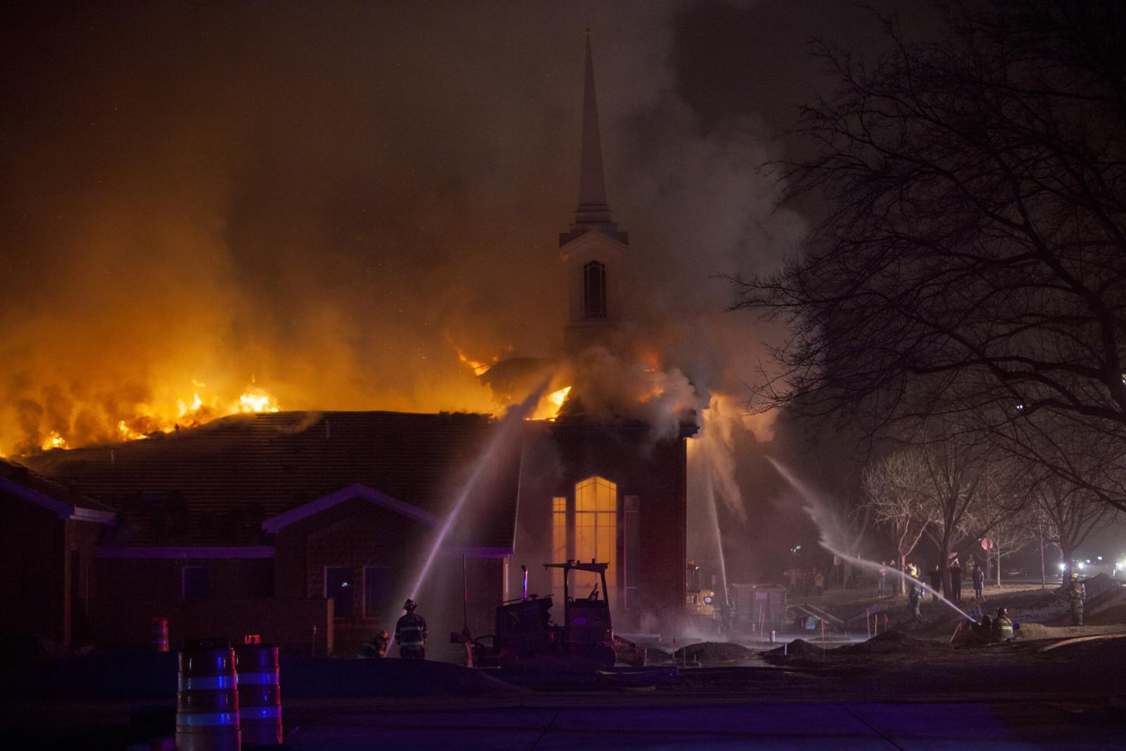 incendio centro de Estaca