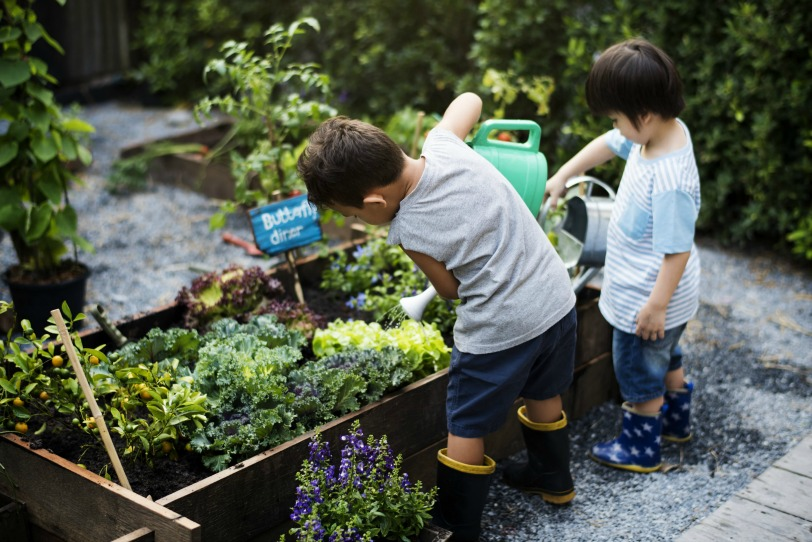 jardin niños